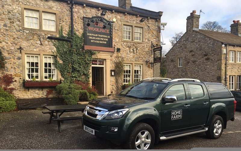 Home farm emmerdale takes delivery of isuzu d max for Wallpaper emmerdale home farm