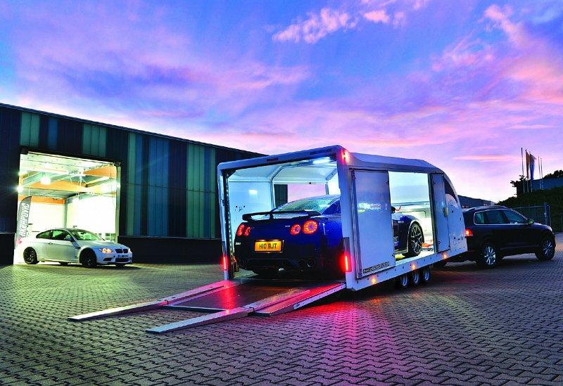 Car Trailer Winch >> Brian James Vehicle Transporter Trailers Northern Ireland