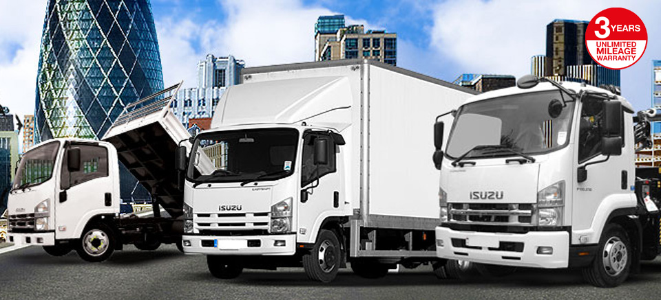 Isuzu Curtain Sider Trucks